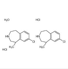 (R)-8-氯-1-甲基-2,3,4,5-四氢-1H-3-苯并氮杂卓盐酸盐半水合物
